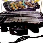 cach chon loai vi bep nuong dien khong khoi bbq nao tot Electric Barbecue grill 2000W