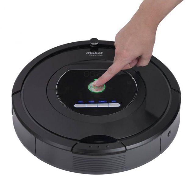 Robot hut bui lau nha cua Nhat iRobot Roomba 770