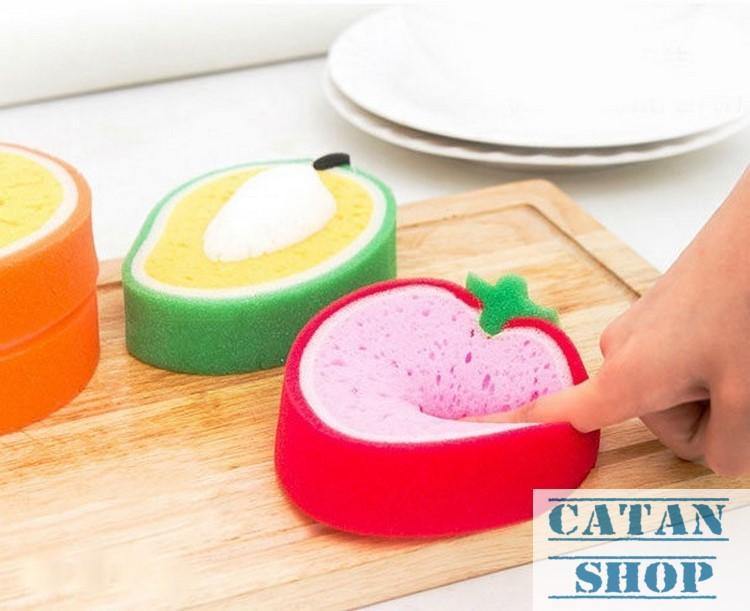 19k Miếng rửa chén bát hình trái cây