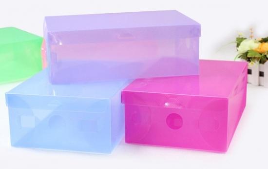 5k hộp đựng giày nhựa trong suốt giá rẻ
