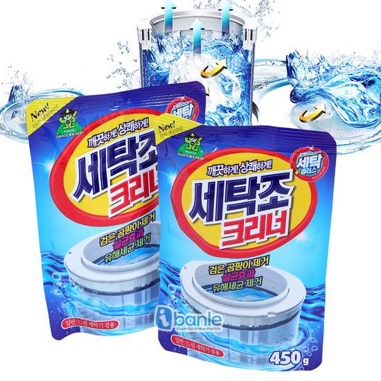 Bột vệ sinh lồng máy giặt Hàn Quốc Sandokkaebi