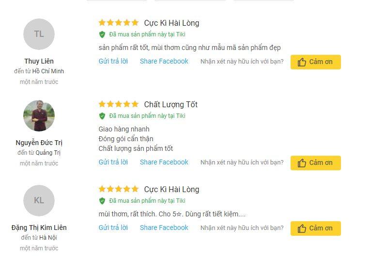 Nhận xét của khách hàng về Nước Lau Sàn Chống Trơn Trượt Eztex Floor Hương Lavender
