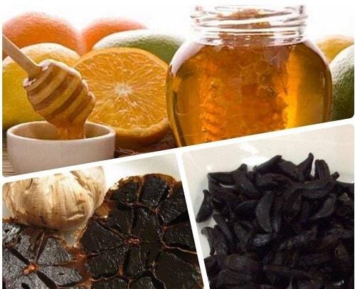 Cách sử dụng tỏi đen Ngâm tỏi đen với mật ong