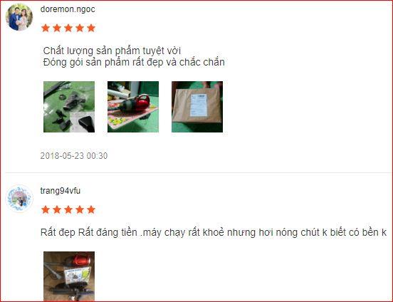 Nhận xét Máy hút bụi Vacuum Cleaner JK 8 trên Shopee