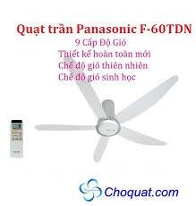 Quạt trần Panasonic F60TDN trên web Panasonic Việt Nam