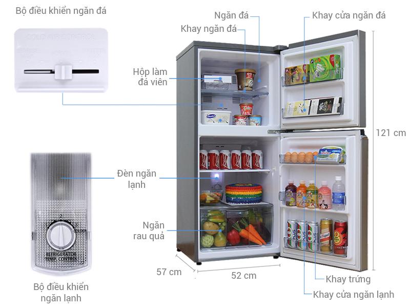 Tủ lạnh Panasonic 152lit