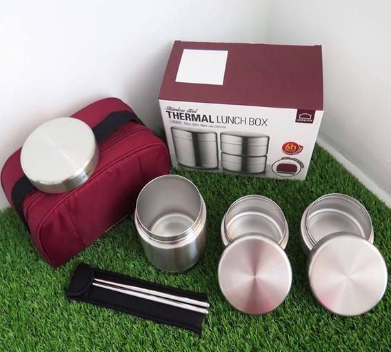bộ hộp cơm giữ nhiệt LockLock Ihc8015
