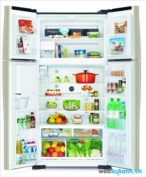 hình ảnh tủ lạnh Hitachi