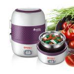 Hộp cơm cắm điện Ariang, Chefman, Komasu và Playbear -Review chi tiết