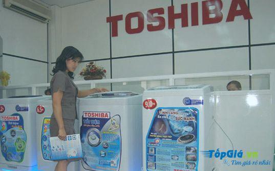 máy giặt Toshibs luôn được khach hang lựa chọn