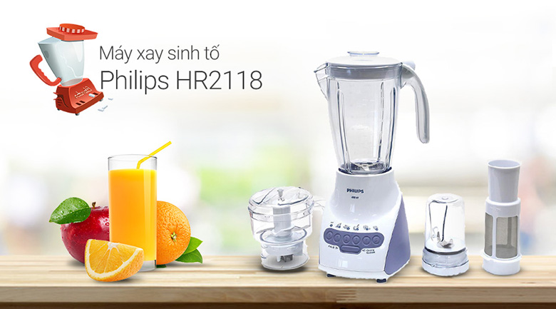 may xay sinh to philips hr2118