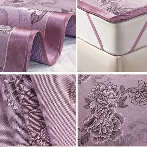 Chiếu được làm từ vải lụa mềm mại