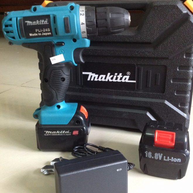 Máy khoan pin MAKITA 168V chính hãng
