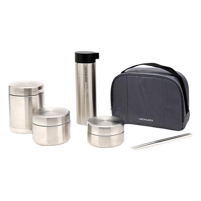 Review 5 bộ hộp cơm giữ nhiệt Lock and Lock tốt nhất, nơi mua chính hãng giá rẻ