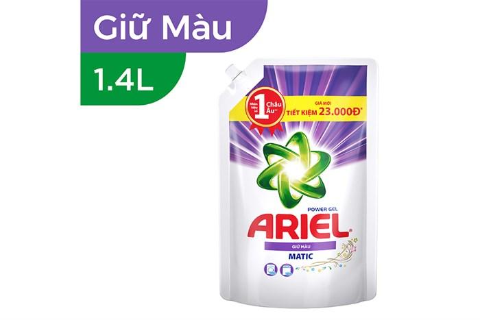 Nước giặt Ariel giữ màu 14 lít