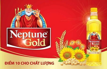 Dầu ăn Neptune Gold điểm 10 chất lượng