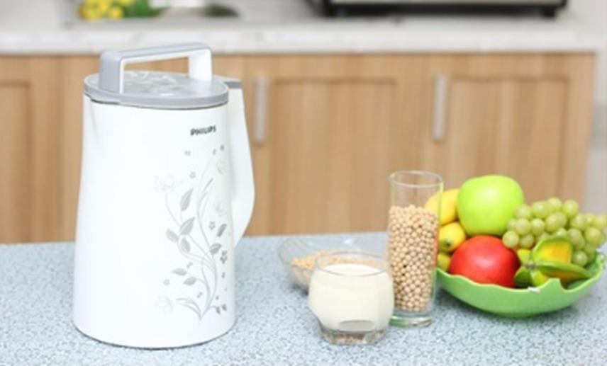 Máy làm sữa đậu nành philipshd2072 tiện dụng