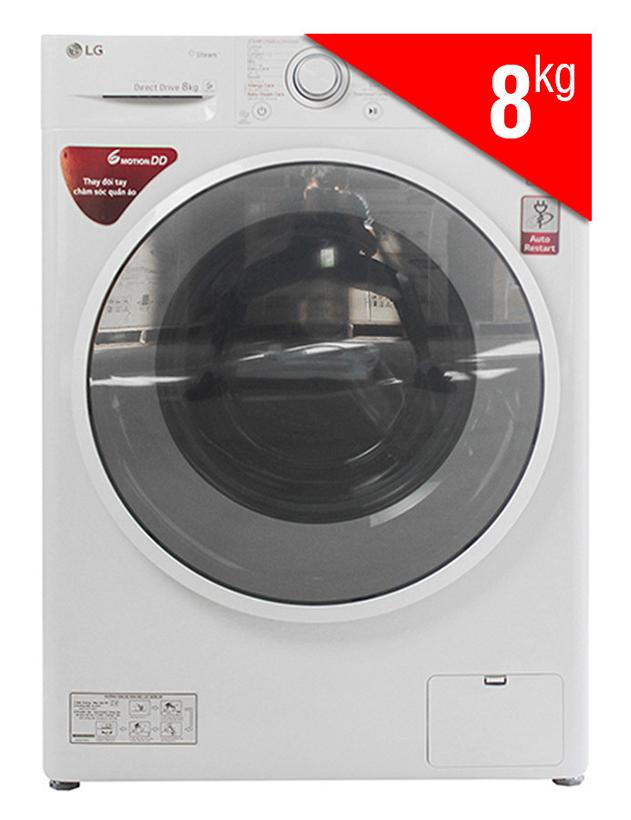 Máy giặt cửa ngang Inverter LG FC1408S4W2 sang trọng và đẹp