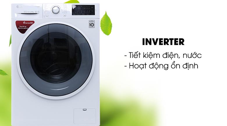 Máy giặt tiết kiệm điện nước và chạy êm