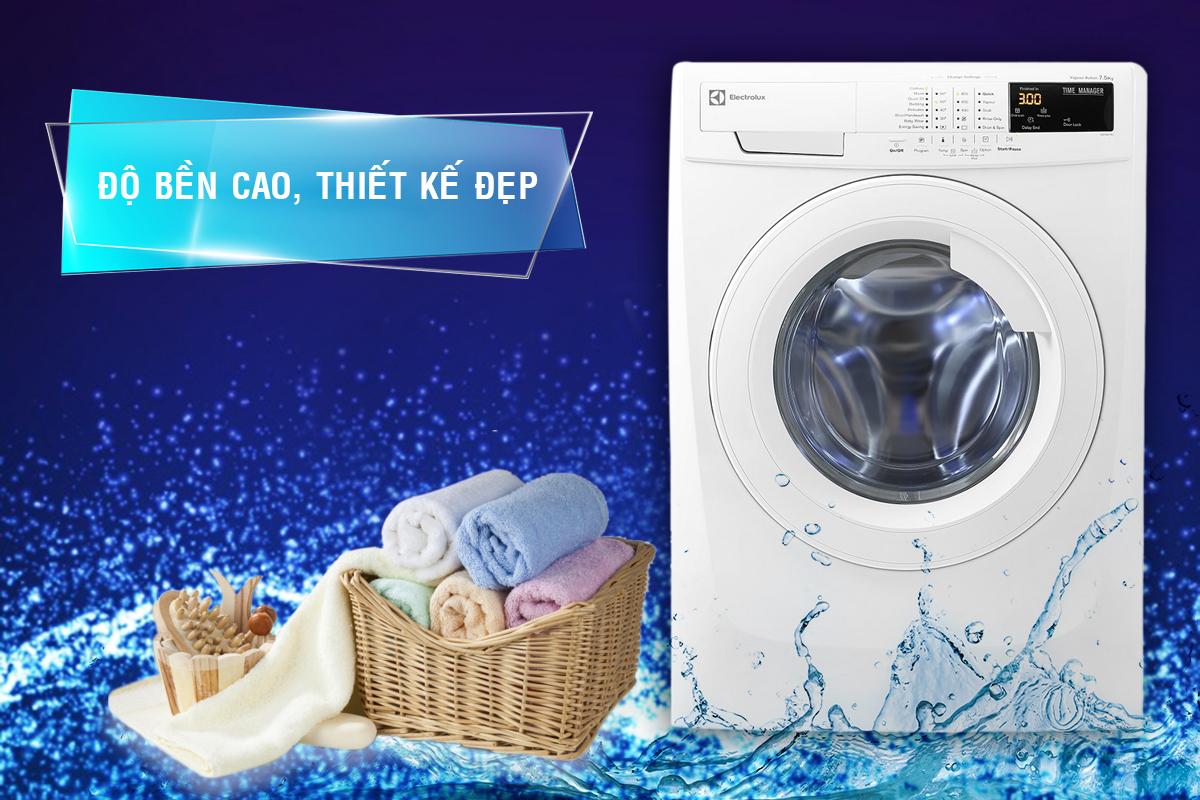 Thiết kế sang trọng và đẹp của Máy Giặt Cửa Ngang Electrolux EWF80743