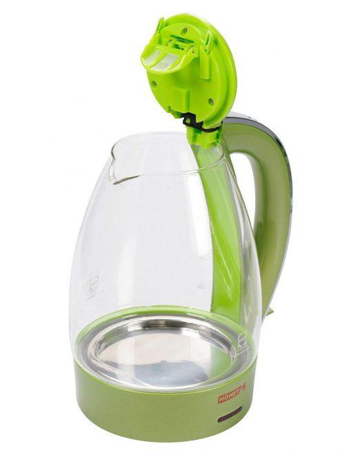 Ấm đun nước siêu thốc thủy tinh hãng Honey's HO