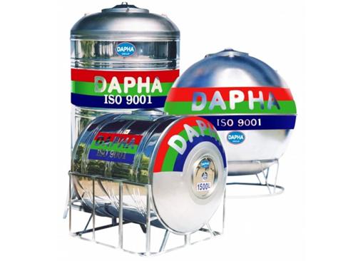 Bồn chứa nước inox Dapha