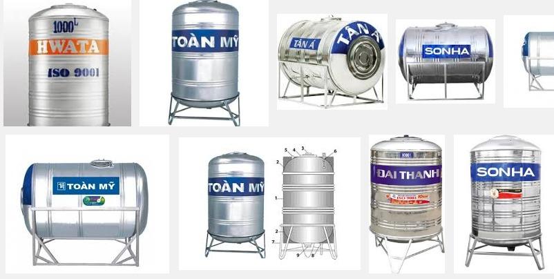 Các thương hiệu bồn nước phổ biến