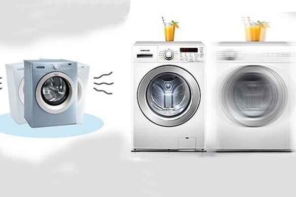 tìm vị trí thích hợp đặt máy giặt