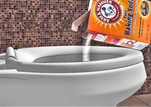 bột tẩy toilet