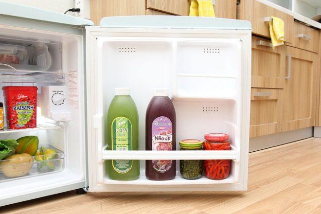Tủ lạnh 50 lít nhỏ nhất