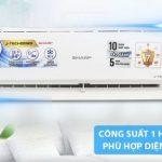 Máy lạnh Inverter Sharp AH-X9VEW – có tiết kiệm điện không ?