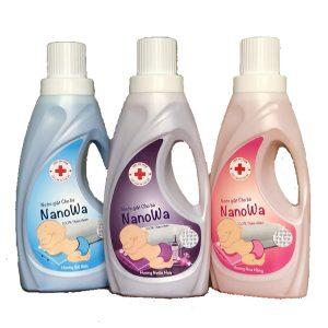 nước giặt NanoWa dành cho trẻ