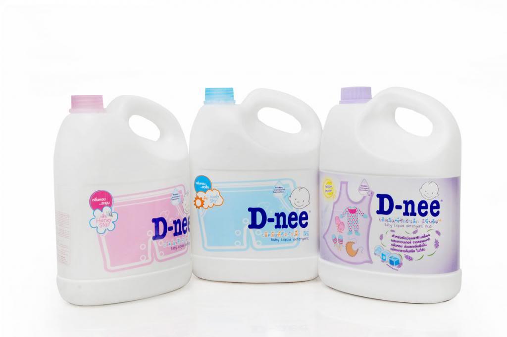 nước giặt D-nee dành cho bé nhãn hiệu của Thái Lan