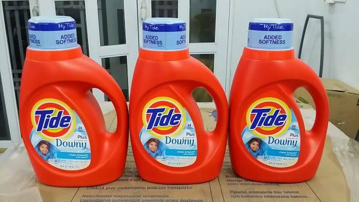 nước giặt TIDE