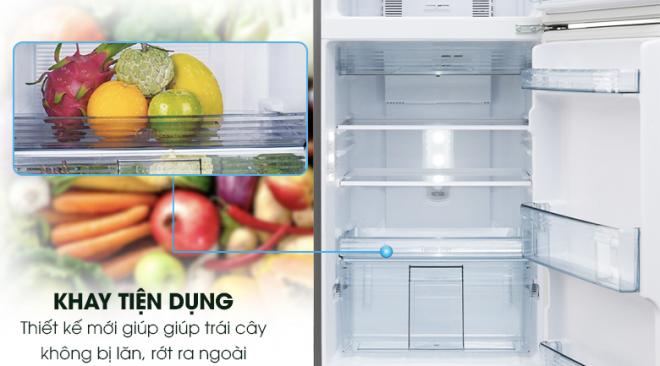 """Tủ Lạnh Inverter Panasonic NR-BL267VSV1,(234 lít) """"siêu"""" tiết kiệm điện, sở hữu công nghệ Panorama làm lạnh cực nhanh."""