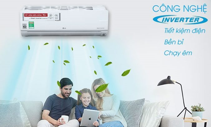 Máy lạnh Inverter LG V10APR- liệu có thật sự kháng khuẩn, xua được muỗi ?