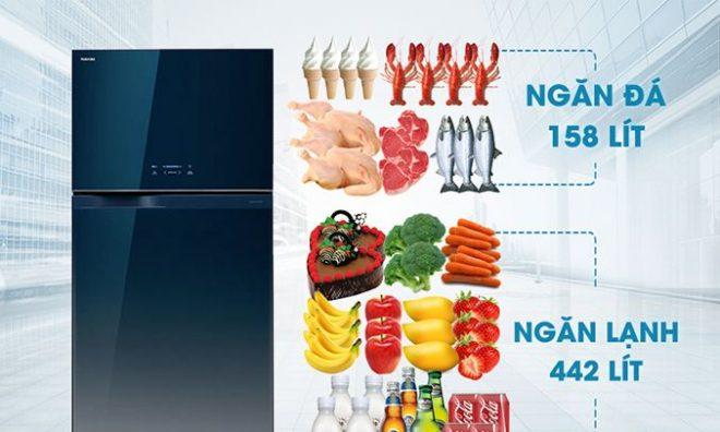Tủ Lạnh Toshiba 600 Lít GR WG66VDAZ