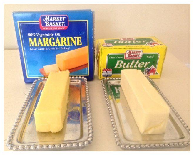 Bơ hay margarine đều như nhau