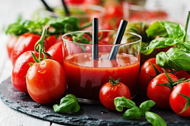 Cà chua có nhiều sinh tố C