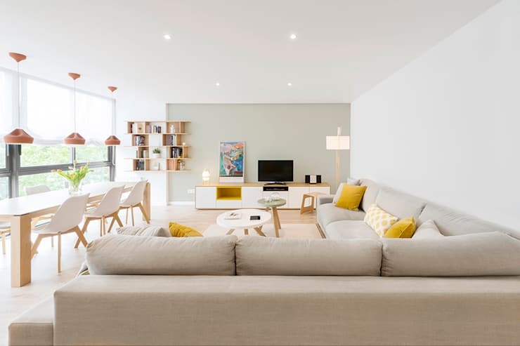 Phòng khách by Beivide Studio