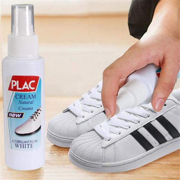 Kết quả hình ảnh cho cách vệ sinh giày sneaker trắng