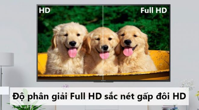 Màn Hình Tivi 43 Inch Full HD Mang đến Hình ảnh Chi Tiết đẹp Hơn