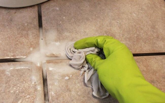 Kết quả hình ảnh cho cách làm sạch ron gạch