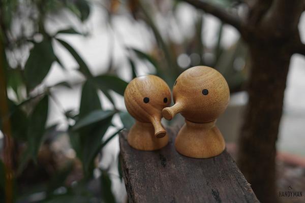 Bộ đồ gỗ trang trí Pinocchio