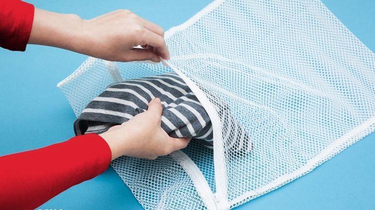 Sử dụng túi giặt khi giặt bằng máy
