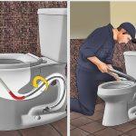 Hướng dẫn cách xử lý khi bồn cầu bị nghẹt cực kỳ hiệu quả