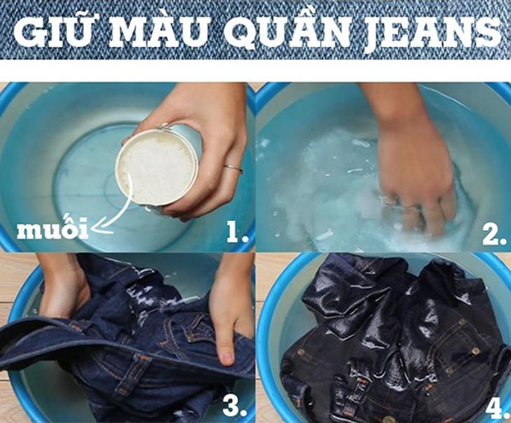 Hướng dẫn và bảo quản quần áo jean luôn tươi mới