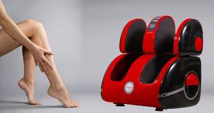 Xoa bóp cho cả vùng lòng bàn chân và bắp chân