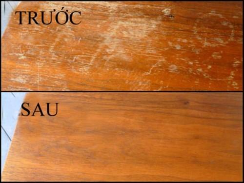 Sàn gỗ bị xước