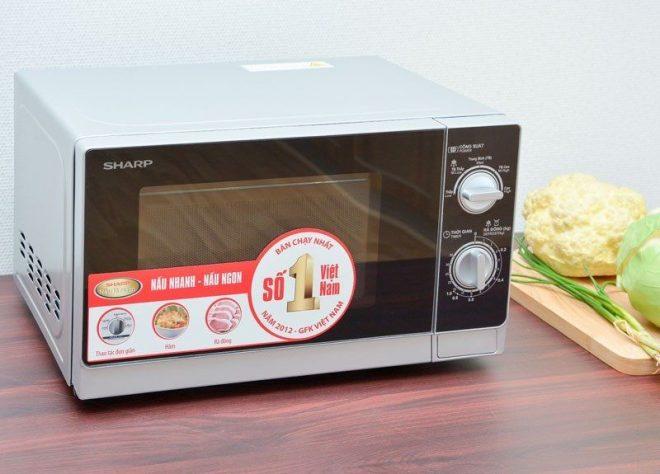 Lò vi sóng Sharp là một trong các hãng hàng được nhiều người lựa chọn